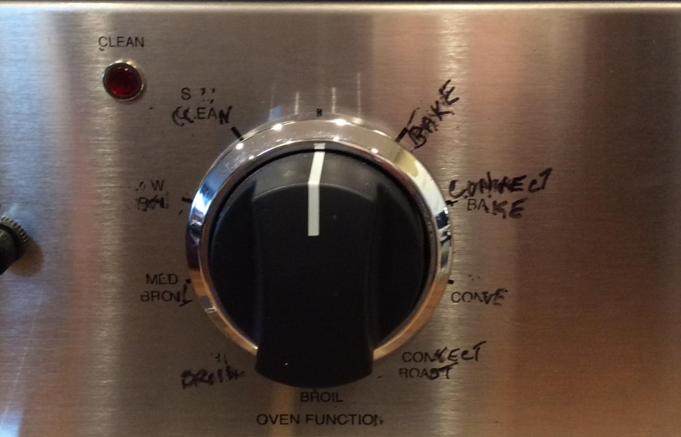 smeg oven instructions symbols
